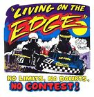 LIVING ON THE EDGE KART RACING NO LIMITS NO DOUBTS NO CONTEST SWEATSHIRT