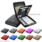 "TRU VIRTU ""MONEY & CARDS"" Aluminium Wallet Case RFID Protection"