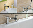 Vandfald Bathroom Waterfall Tap Pack Set Bath Filler Shower Mixer Mono Basin