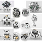925 Sterling Silver Animal B fit European Bead Charm Bracelets
