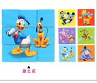 Children Baby kid Wooden 3D Cartoon Puzzle Wisdom Jigsaw Early Education Toys