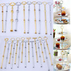 24 Styles 3 Tier Cake Plate Stand Center Handle Rods with Fitting Hardware New