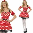 Fairytale Mouse Costume - Ladies Sexy Minnie Film Character Fancy Dress Outfit