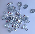 6mm 10mm 12mm mixed  SCATTER CRYSTALS WEDDING TABLE DECORATION  LOTS OF CHOICES