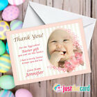 Personalised Easter Thank You cards with your photo - Egg or Present Thank you