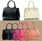 Fashion Ladies Designer Faux Leather Womens Smile Shoulder Bag Handbag Tote Bag