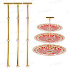 3 Set 3 Tier Cake Stands Cupcake Wedding Party Holder Display Easter Party Gift