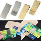 Wholesale Man Blank Double Sided Credit Card Holder Wallet Money Clip Q2