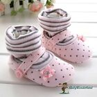NWT Baby Girls Non Slip Toddles Shoes Prewalkers Size 3-18m -Pink With Socks