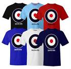 NEW Lambretta Target Mens T-shirt  Sz S M L XL XXL  5 Colours  retro/vintage mod
