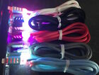 Flash Braided Led Light-up Usb Charger Cable For Apple Iphone 6 5 5s Ipod Touch
