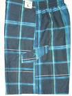 New Mens SPEEDO Plaid Swimsuit Board Shorts Blue & Green YOU PICK SIZE
