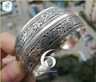 Beautiful!12 style Tibetan Tibet Silver Totem Bangle Cuff Bracelet!