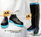Vocaloid Miku Hatsune cosplay costume shoes/boots hand made free shipping