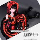 *JCPUNK* Date A Live Tokisaki Kurumi Nightmare cosplay dress costume short ver.