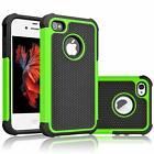 Fits iPhone 4S 4 Case Shockproof Rugged Rubber Impact Hybrid Hard Shell Cover