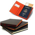 New Travel Passport ID Card Holder Case Cover Pu Leather Wallet Purse Organizer