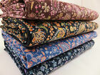 SB Corduroy Paisley 100% Cotton Fabric babycord needlecord per metre