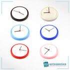 Blank Wall Clock Quartz European Printed Insert/Photo - (9in) Diameter (AC02)
