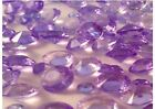 LILAC TABLE CRYSTALS - MIXED SIZES - BEAUTIFUL QUALITY