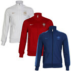 NEW MENS NIKE FRANCE PORTUGAL EURO 2012 POCKETS FOOTBALL SOCCER JACKET SIZE S-XL