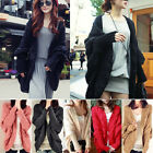 K5K Womens Knitted Cardigan Batwing Outwear Lady Casual Loose Sweater Coat Tops
