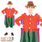 Guy Fawkes + Hat Boys Fancy Dress Book Week Historical Childs Costume Outfit New