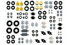 LEGO WHEELS 100 pieces set pack city like 6118 small medium large tyre axle hub