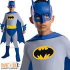Batman Brave & Bold Kids Fancy Dress Boys Superhero Costume Kids Outfit 3-10