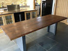 Vintage Industrial Contemporary Dining Table
