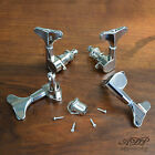Mecaniques Basse style Gotoh Bass Tuners set de 4 au choix 4L, 4R, 2L+2R Chrome for sale