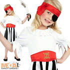 Pirate Girl Book Day Fancy Dress Kids Child Costume Gilrs Outfit Ages 4-12 New