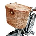 Vintage Willow Wicker Bicycle Front Basket Dogs Pets Shopping Stuff Baskets INE