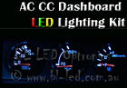 Nissan Skyline R32 R33 Auxillary Gauge Pod LED Light Kit Upgrade