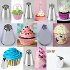 8 SHAPES ICING PIPING CAKE CUPCAKE DECORATING NOZZLES SUGARCRAFT TOOLS #F