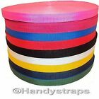"20mm Webbing Polypropylene 3/4"" Assorted Colors"