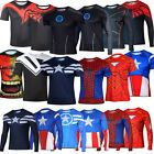 Super Heroes Comic T-shirt Costumecosplay Shirt Tops Breathable Cycling Jersey