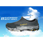 Mens Shoes Sports Running Shoes Hiking Causal Shoes Breathable Mesh Slip-on new