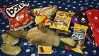 Dog Christmas Birthday Gift Pack Plush Toys Treats Chews Blanket Markies