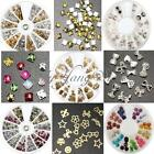 Bijoux Ongle Strass Cristal Stickers Manucure Carrousel Fimo Nail Art Tips Déco
