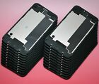 LOT NEW Black iPhone 4S Back Glass Rear Door Battery Case Cover replacement