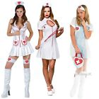SEXY ADULT NAUGHTY NURSE OUTFIT UNIFORM 999 LADIES FANCY DRESS COSTUME UK 6-24