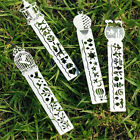 Multi-function Metal HollowDrawing Bookmarks Shape Ruler Creative Contracted