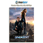 Divergent 2014 Movie HD Photo Poster RD-3078-001 (A4-A3-A3Plus)