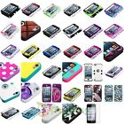 Stylish TUFF Hybrid Phone Hard Case For Apple iPod touch 5th+Screen Protector