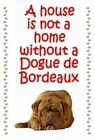 Dogue de Bordeaux - New - Large chunky keyrings - Free UK p/p
