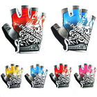 2015 New Cycling Bike Bicycle Half Finger Gloves  Size M -XL Three Colours
