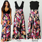 Ladies Womens Maxi Dress Size 8-20 Summer Long Skirt Evening Cocktail Party TOP