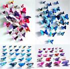 Sticker Art Design Decal Wall BUSC Home Decor Room Decorations 3D Butterfly