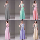 New Formal Long Evening Gown Party Prom Bridesmaid Dress Size 4 6 8 10 12 14 16